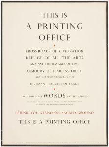 ThisisAPrintingOffice.Warde