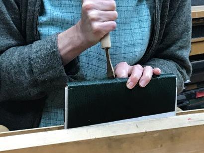 Juliayn Coleman blind tooling.
